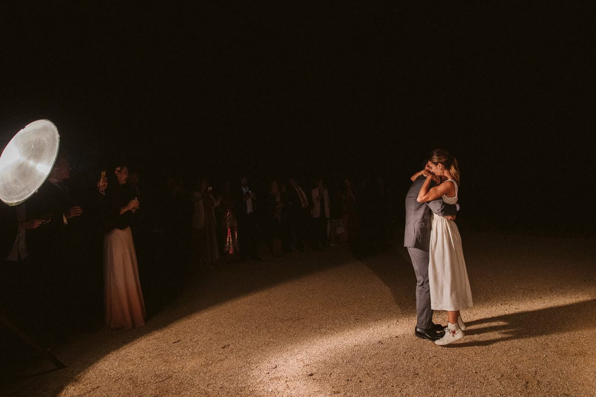 Rustic natural wedding in Madrid countryside