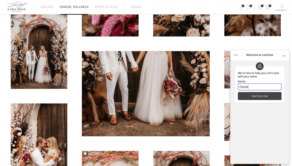 pic-time espanol herramientas fotografos lara onac photography
