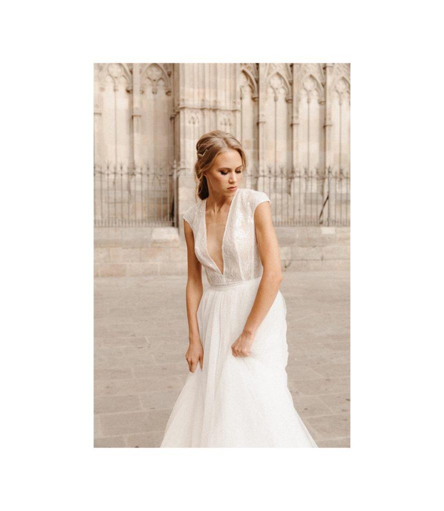 andrea lalanza vestido de novia barcelona