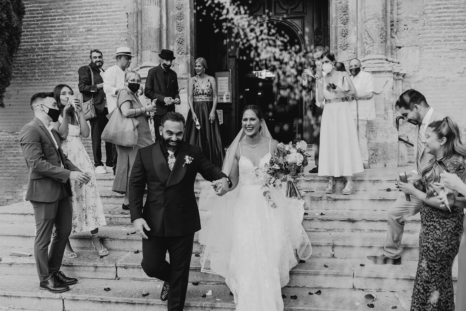 Destination wedding in Granada
